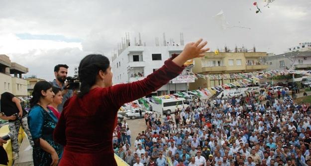 HDP, Halfeti'ye çıkarma yaptı