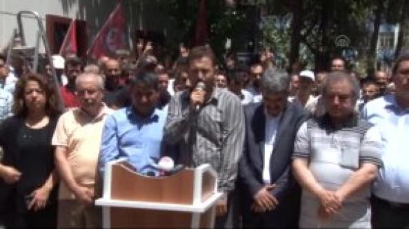 HDP Urfa örgütünü karanfil bıraktı...