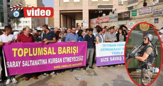 HDP'nin yürüyüşüne izin çıkmadı!