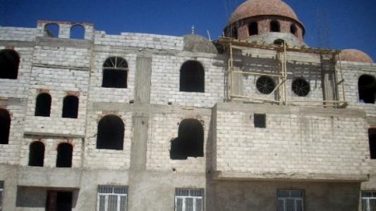 İnşaatı yarıda kalan camii yardım bekliyor