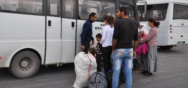 Irak'a göç ediyorlar...