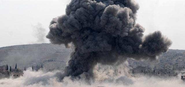IŞİD mevzileri yerle bir edildi