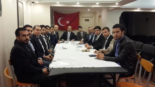 İstanbul Şanlıurfa Derneği'nde görev değişimi