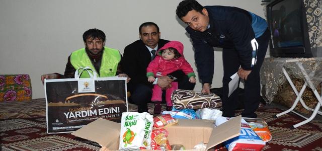 Ceylanpınar'daki Suriyelilere Yardım Eli