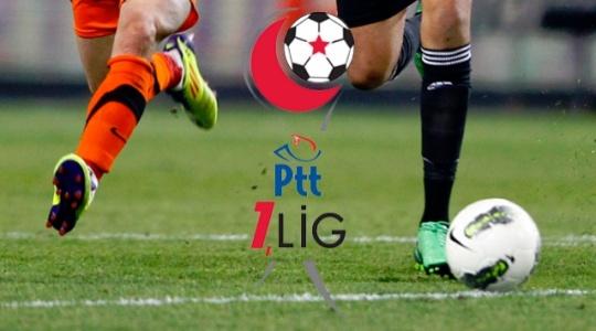 İşte PTT 1. Lig'de 8. ve 9. hafta programı