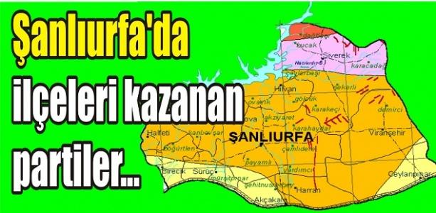 İşte Urfa'da çıkan sonuçlar...