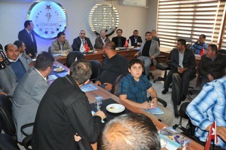 İzmirli iş adamları Urfa'da