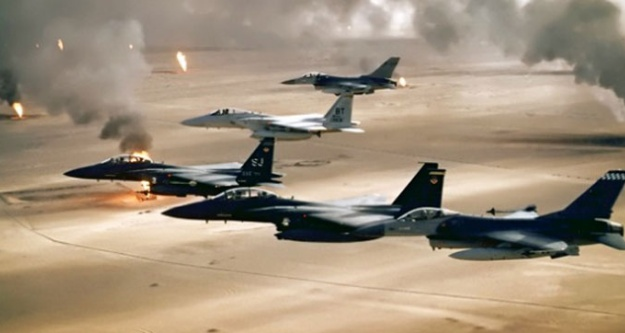 Jetler IŞİD'i vurdu!