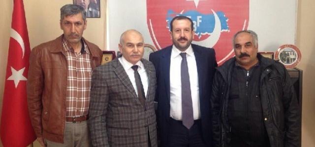 Karahan, Altun'u ziyaret etti