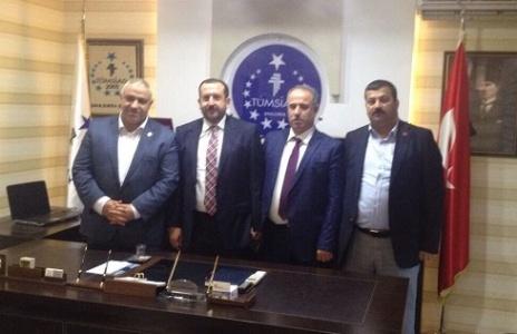 Karahan'dan TÜMSİAD'a ziyaret