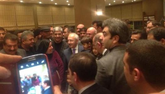 Kılıçdaroğlu, Urfa'ya geldi