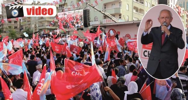 Kılıçdaroğlu: Urfa'yı dünya markası yapacağım