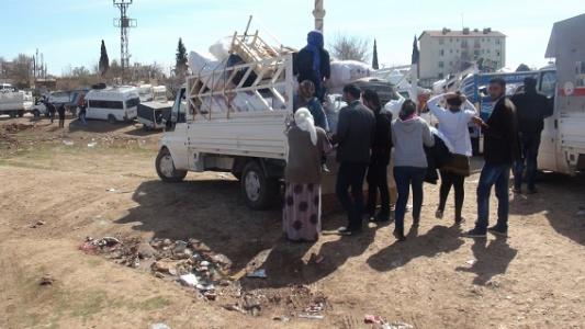 Kobani'ye dönüş devam ediyor