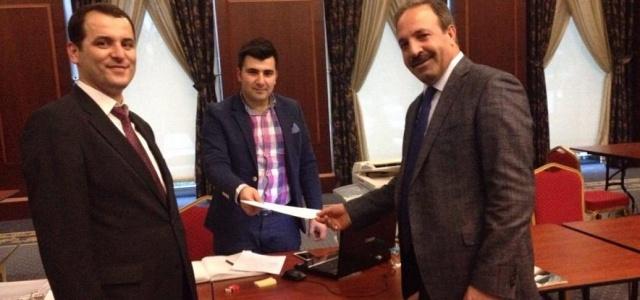 Milletvekili Özcan, müracaatını yaptı