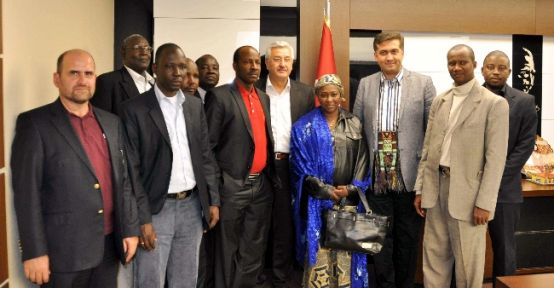 Nijerli Heyetten Başkan Kalaycı'ya Ziyaret