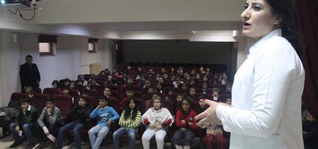 Öğrencilere 'verem' semineri