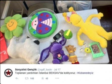 Ölen Gençler Kobaniye bunları götüreceklerdi...