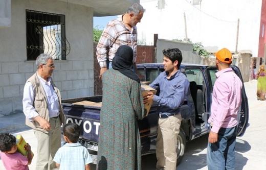 Önen, Suriyelileri unutmadı