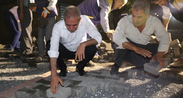 Sahur'da denetim yapan Başkan...