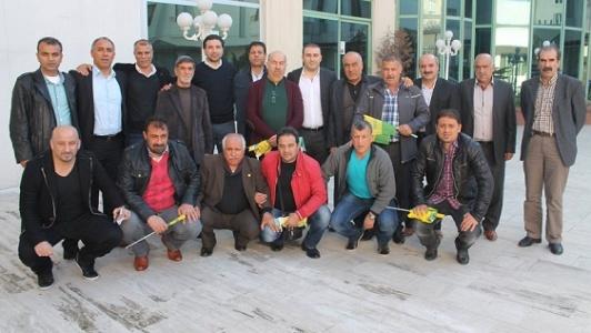 Şanlıurfaspor eski futbolcularını topladı