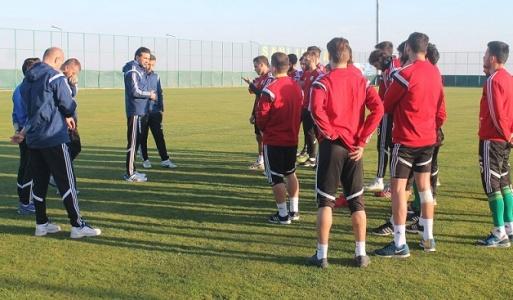 Urfaspor'da Samsun hazırlıkları başladı