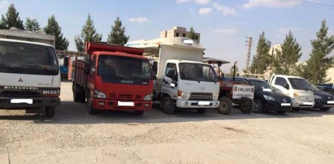 Sınır'da Araç Kaçakçılığına Baskın