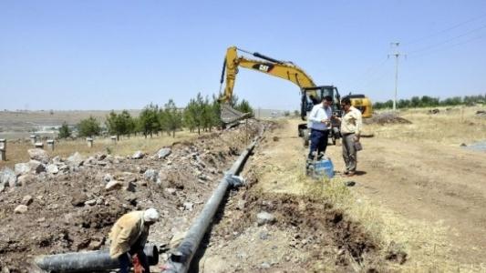 Siverek'in su sıkıntısı çözülüyor