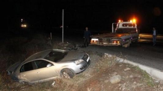 Siverek'te Otomobiller Çarpıştı