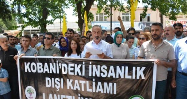 Siverek'te protesto vardı