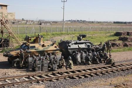 Suriye sınırında 1 PYD'li yakalandı