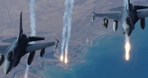 Suriye'de bulunan IŞİD hedefleri vuruldu