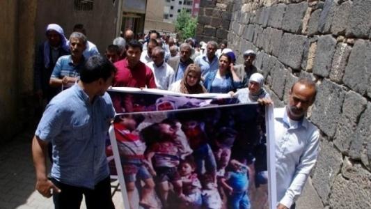 Suriye'deki Kürt katliamlarına tepki