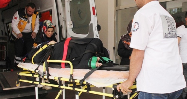Suriyeli kadın balkondan düştü