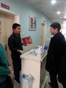 Suruç Devlet Hastanesi Acil Servisinde Yenileme Çalışmaları