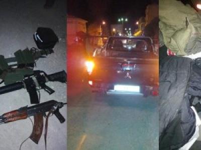 Suruç'ta silahlı 3 kişi gözaltına alındı