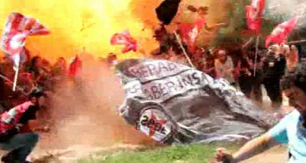 Suruç'taki patlamanın saniye saniye görüntüleri...