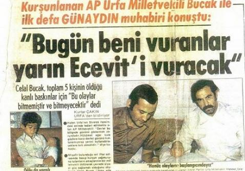 Terörün ilk mağduru Fatih Bucak...