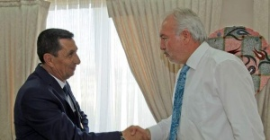 Gaziler, Başkan'ı Ziyaret Etti