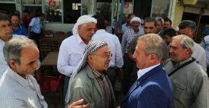 HDP Adayı Geçgel, Suruç'ta coşkuyla karşılandı