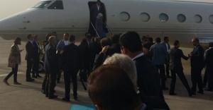 Başbakan, Urfa'ya indi