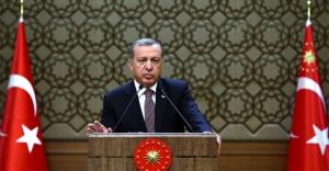 Erdoğan'dan üç dilde anlamlı mesaj