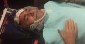 Fakıbaba#039;nın aracı kaza yaptı