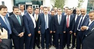 Belediye başkanları Bakan'ı kutladı