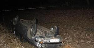 Otomobil hurda yığınına döndü: 1 ölü