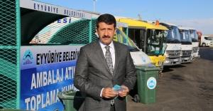 Eyyübiye Belediyesi, geri dönüşüm projesi başlatıyor