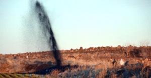 BOTAŞ Boru Hattı Patladı, Tarlalar Ham Petrolle Doldu