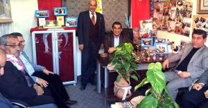 Atilla'dan Emekliler Derneğine Ziyaret