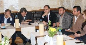 KAŞİP Başkanı Aydın, Bakan Kılıç'a sorunları anlattı