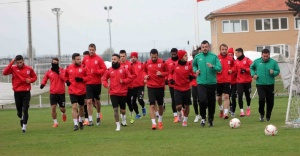 Balıkesirspor, Urfa maçına hazırlanıyor