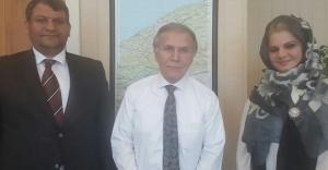 Başkan Ayhan'dan Şahin'e ziyaret
